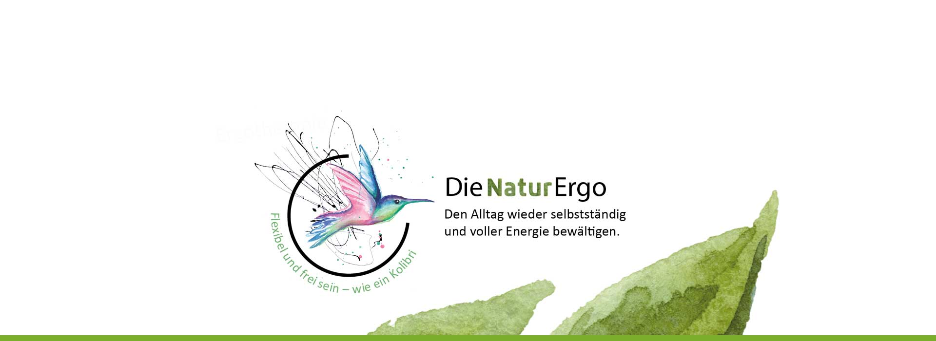 Slider Bild der NaturErgo Praxis von Melanie Schaffer